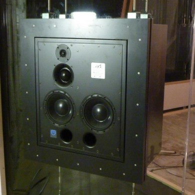 dec 07, 2012 - ATC 110A SL Custom @ Noisia studios. In-glass mounted, fully decoupled. — with ATC 110 A SL.