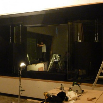 Dec 07, 2012 - Reflection in the window... DEMATEC installing the floating nacelles for NOISIA's in-glass ATC 110 A SL Custom. It's a delicate and time consuming stage.