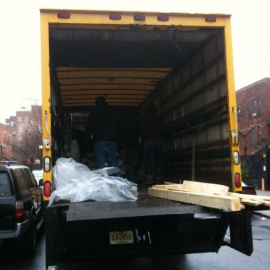 Jan 17, 2013 - Acoustic Doors for Bonati Mastering In NYC have finally arrived all the way from Holland! — at Brooklyn, Ny.