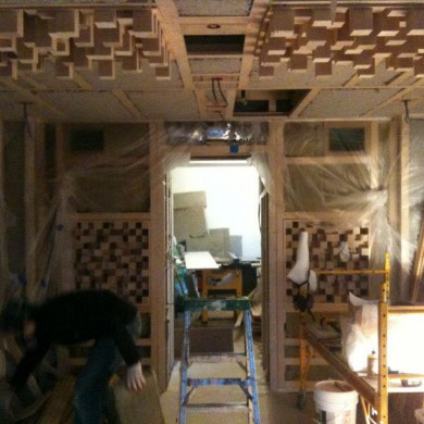 Jan17, 2013 - Getting close to finishing stage Bonati Mastering (Brooklyn) Ny — in Brooklyn, New York.