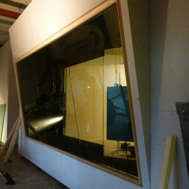 Feb 01, 2013 - Outer shell windows are being installed on Nik's studio. Good to see these bunkers closed.