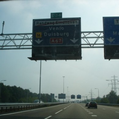 July 24, 2009 - On the road to Germany via The Netherlands to check a few stuff on a construction site.