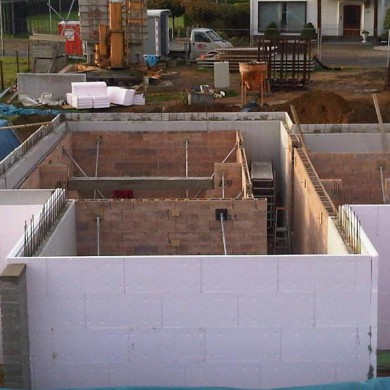 Nov 5, 2011 - Dirk Broun's studio bunker came out of the ground. Fully floated Structure. Using a new technique to build walls, very precise work... — in The Netherlands.