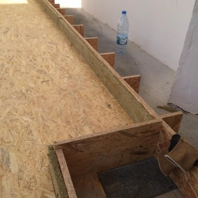 Sep 18, 2014 - Soon to be Floating floor for ZIno Mikorey's new FTB Mastering suite in Berlin, Germany.
