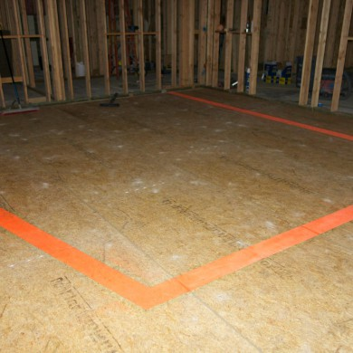 Sep 18, 2014 - One of two twin FTB Mastering suites cable ducts form-work ready before screed topping layer is poured on a floating floor in Los Angeles, CA. Clean job. @ Dave Collins Mastering