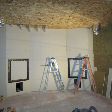 Jan 08, 2015 - DC Mastering in Los Angeles. Front wall about done, Side walls and ceiling in process. — in Pasadena, California.