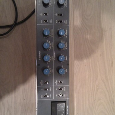 Spet 21, 2010 - New toy arrived at our show-room. Neve 81609 compressor