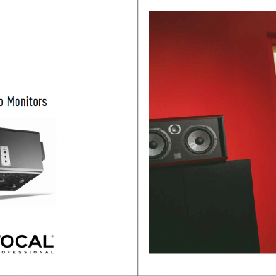 May 29, 2015 - Happy to see FOCAL Professional's FTB test & listening room is featured in their current catalog. It feels good to see so many speaker brands and multinational corporations rely on FTB rooms as an integral part of their testing procedures & facilities. Thank you.