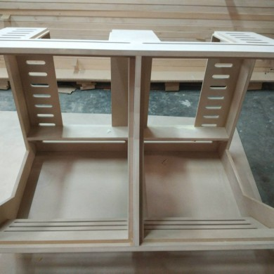 Jun 12, 2015 - Pre-production units of the Northward Systems Pro Series Studio 2x14HE racking system double bay. Ready for painting!