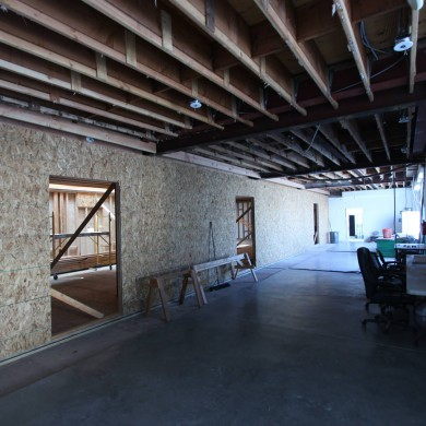 Jun 12, 2015 - Good progress on the 3x NEST Production rooms shells in L.A. — in Los Angeles, California.