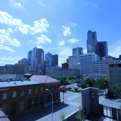 Jun 12, 2015 - Dallas, Texas. Visited to help & consult for a Museum project there, partially dedicated to music. Very interesting project, and a bit different from what we usually do. Not a bad view from the building. — in Dallas, Texas.