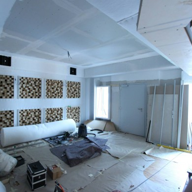 Jul 04, 2015 - Good progress @ Hannes Haindl in Hamburg. Live room with daylight! — in Hamburg, Germany.