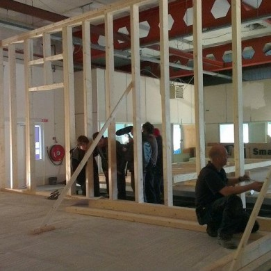 May 15, 2012 - Noisia build goes well. And fast.