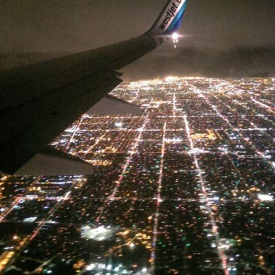 Nov 05, 2015 - Los Angeles shines a bit like Paris from a plane.