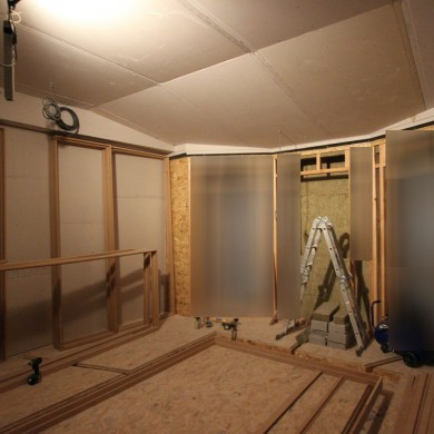 Nov 29, 2015 - Progress at Theatre National de La Monnaie's 5.1 FTB Room in Brussels. Sorry about the blurred area - can't show everything