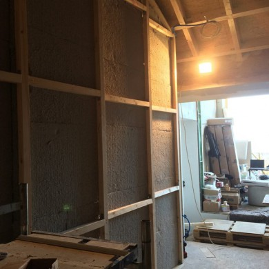 Jan 14, 2016 - Progress @ KMS Mastering. Membranes and layers of Rockwool and Homatherm in place in side walls. Also a clean job from the contractor,