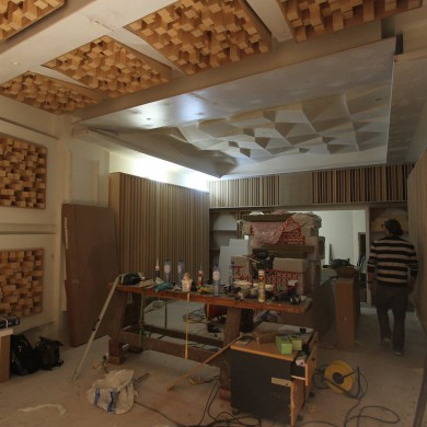 Feb 25, 2016 - SOAP Studios in Brussels. Daniel Bleikolm & Max Steiner very courageously built that place (with help) . Fully floated bunker design (7Hz) ATC 110 A SL in-wall fully decoupled mains. Originally it was to be a