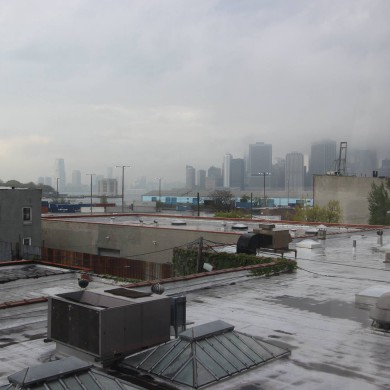 May 10, 2016 - Morning view in NYC. Spent a couple days there for a pre-build meeting on site with client and contractor (DDCG). Build should start in the coming weeks - New Dr Wu's studio. FTB Control Room.