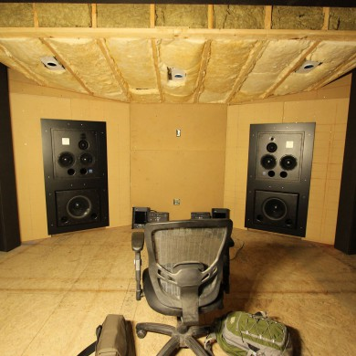 May 26, 2016 - First test listening session @ NEST/ Skrillex room #2 (central room, out of 3 cloned rooms). Sounded really good. ATC did a great job on the custom subs which will only play the... 18Hz to 27Hz band. — in Los Angeles, California.