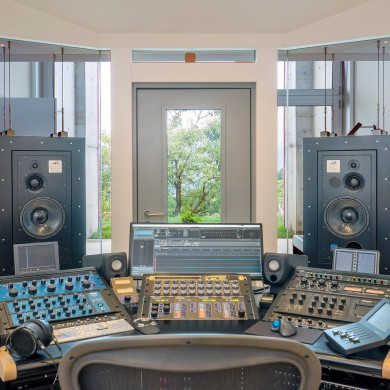 Sep 06, 2016 - KMS Mastering, Contra, Switzerland. Lovely project with quite a view! FTB Mastering Suite, fully floated bunker with in-glass decoupled ATC 100 A SL. Built by Pro Audio Consulting http://www.proaudioconsulting.it/ — with Francesca Effe Bianco and ATC Loudspeaker Technology Ltd.