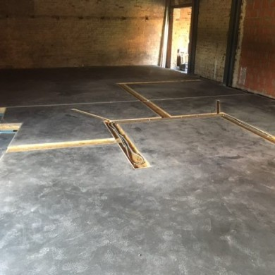 Nov 30, 2016 - Concrete poured @ Barefoot Studios.