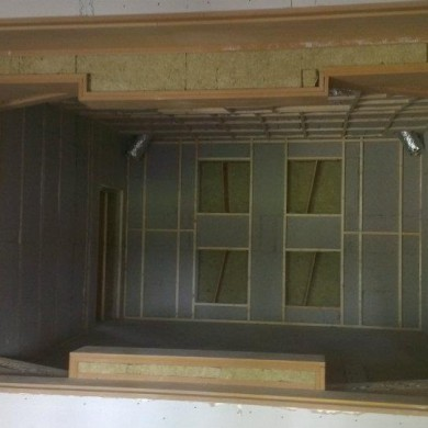 Jul 26, 2012 - The 3 Noisia cloned Control Rooms are soon entering the final stages: window and floating speakers install, acoustic doors, fabric and flooring. Outer shell finish will be the last step. Exciting!