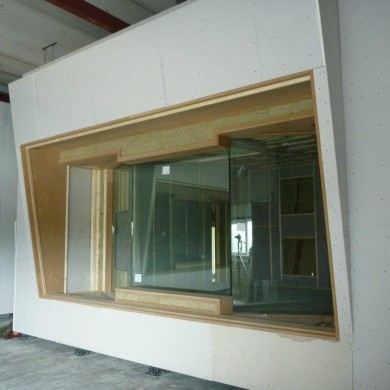 Sep 13, 2012 - Window ready for ATC 110A SL at Noisia Studios