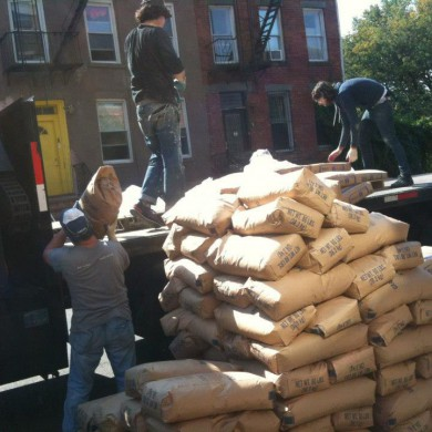 Oct 11, 2012 - Getting Floating floor done @ Josh Bonati Mastering. Build handled by the DDCG. — in Brooklyn, New York.