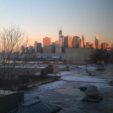 Nov 12, 2012 - At Bonati Mastering for site inspection, a Room with a view. — at Brooklyn, Ny.