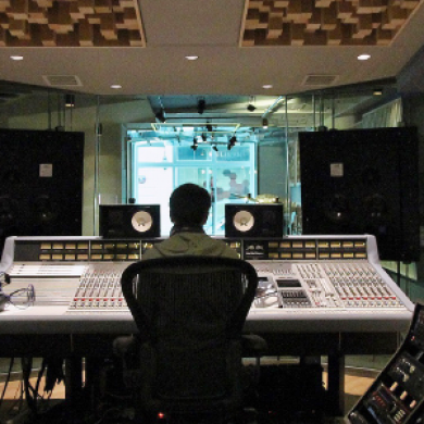 Red Bull Studios, Paris, France.
